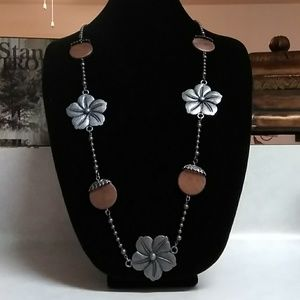 Vintage Polished Metal Necklace